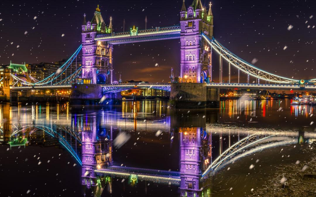 Londres desde Málaga, Puente de Diciembre 2019